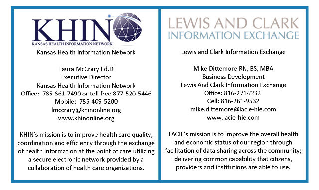 HIE Contact Info